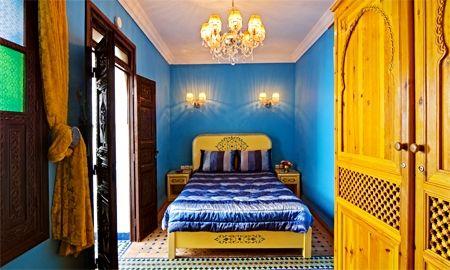 Chambre Essaouira - Riad Ben Tachfine - Marrakech