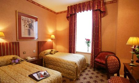 Chambre Single Standard - London Lodge Hotel - Londres