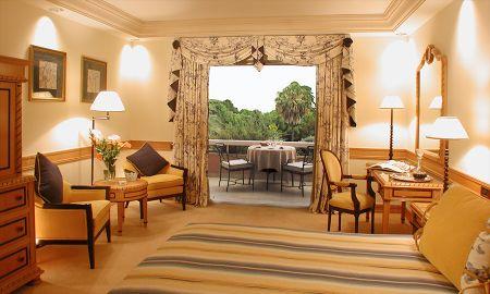 Camera Vista Piscina e Giardino - Hotel Olissippo Lapa Palace - Lisbona