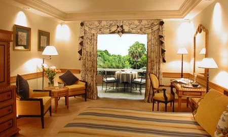 Pool & Gartenblick Room - Hotel Olissippo Lapa Palace – The Leading Hotels Of The World - Lissabon