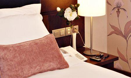 Chambre Standard Individuelle - Hotel Olissippo Oriente - Lisbonne