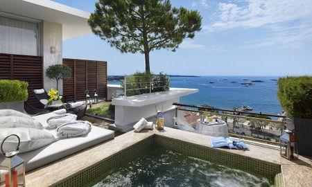 Suite Panoramique avec Jacuzzi - Le Grand Hotel Cannes - Cannes