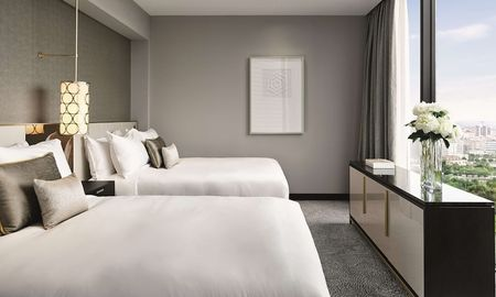 Deluxe City View 2 Queen Beds - Fairmont Barcelona Rey Juan Carlos I - Barcelona