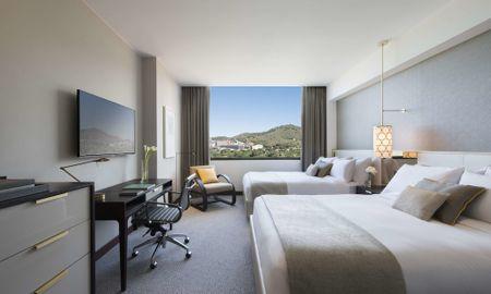 Fairmont Deluxe 2 Queen Size Beds - Fairmont Barcelona Rey Juan Carlos I - Barcellona