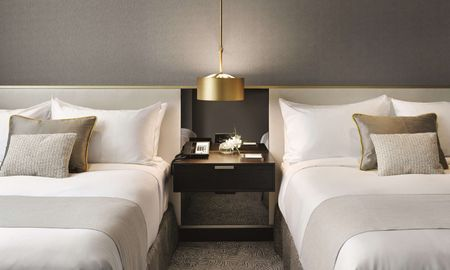 Fairmont Room 2 Queen Size Beds - Fairmont Barcelona Rey Juan Carlos I - Barcelona