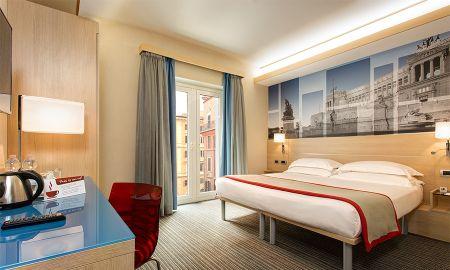 Habitación Doble - IQ Hotel Roma - Roma