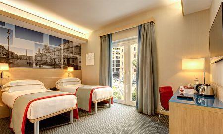 Habitación Twin - IQ Hotel Roma - Roma