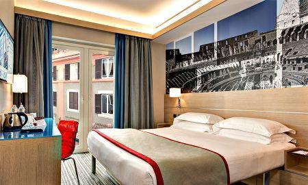 Habitación Doble Pequeña - IQ Hotel Roma - Roma