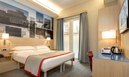 Habitación Planta Baja - IQ Hotel Roma - Roma
