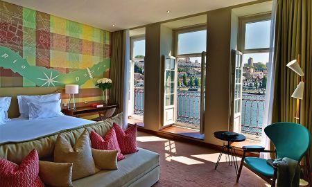Vista Grand Vintage con balcón - Pestana Vintage Porto Hotel - Oporto