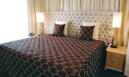 Chambre Deluxe Single - Hotel Le Pavillon De La Rotonde - Lyon