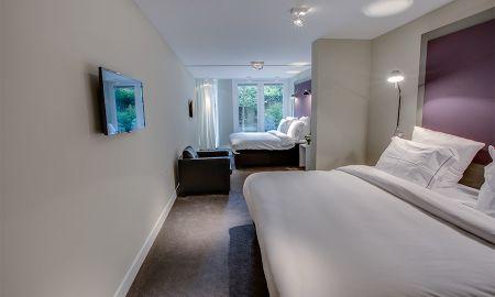 Quarto Quádruplo - Hotel Roemer - Amsterdã