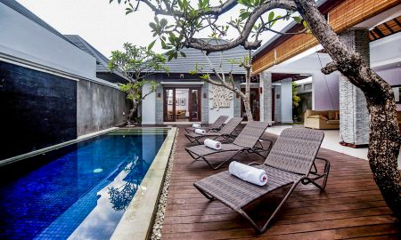 Villa com Piscina - 2 Quartos - The Wolas Villa & Spa - Bali