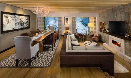 Chalet Aspen de Dos dormitorios con Acceso de cortesía al Ski Dubai - Kempinski Mall Of The Emirates - Dubai