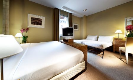 Quarto Familiar - Eurostars Hotel Saint John - Roma