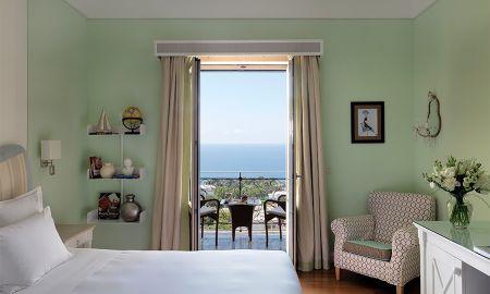 Quarto Deluxe - Vista para o Mar - Capri Tiberio Palace - Capri