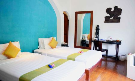 Explorer Twin Room - Daily Tuk Tuk - Navutu Dreams Resort & Wellness Retreat - Siem Reap