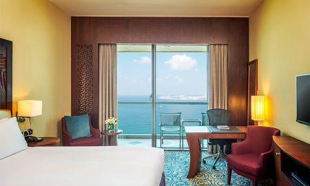 Luxury King Quarto com Varanda Privada e Vista Frente Mar - Sofitel Dubai Jumeirah Beach - Dubai