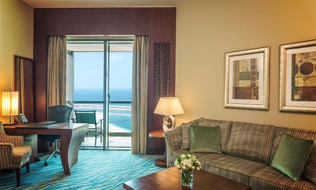 Prestige Suite with Private Balcony and Side Sea View - Sofitel Dubai Jumeirah Beach - Dubai