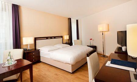 Quarto Individual Superior - Radisson Blu Badischer Hof Hotel - Baden-baden