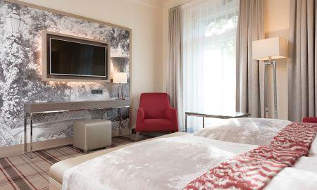 Quarto Duplo Standard - Radisson Blu Badischer Hof Hotel - Baden-baden