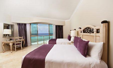 Suite Caribe - Sandos Cancun Luxury Resort All Inclusive - Cancún
