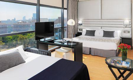 Chambre Double avec Lit d'appoint - H10 Marina Barcelona - Barcelone