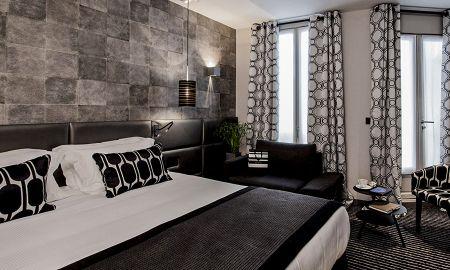 Quarto Deluxe - Le Grey Hotel - Paris