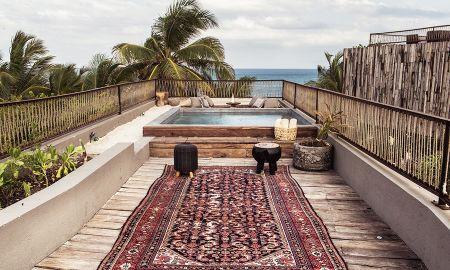 Oceanfront Suite - Be Tulum Beach & Spa Resort - Tulum
