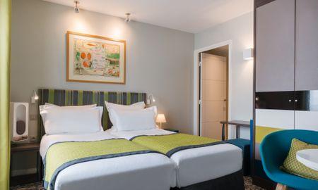 Classic Twin Room - Le Mareuil - Paris