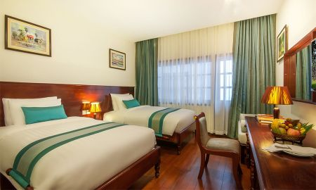 Deluxe King/Twin Room - Lotus Blanc Resort - Siem Reap