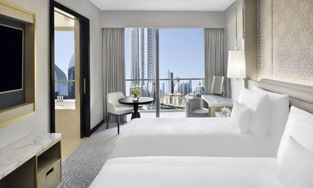 Deluxe Room - Burj View - Address Dubai Mall - Dubai