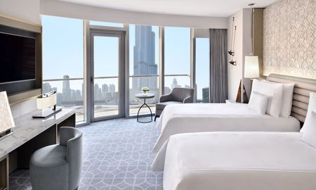 Premier Room - Burj view - Address Dubai Mall - Dubai