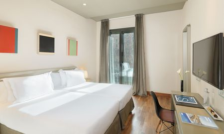 Chambre Double ou Twin - Usage Individuel - H10 Casanova - Barcelone