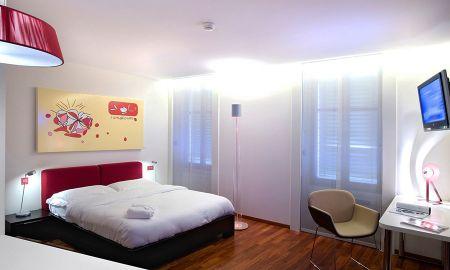 Chambre Open Space - La Cour Des Augustins - Genève