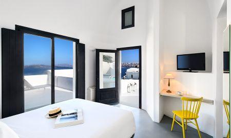 Deluxe Suite - Private Pool Spa - Ambassador Aegean Luxury Hotel & Suites - Santorini