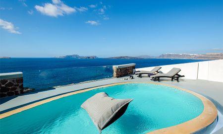 Ambassador Villa with private pool spa - Ambassador Aegean Luxury Hotel & Suites - Santorini
