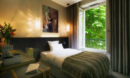 Garden View Single Room - Hôtel B Montmartre - Paris