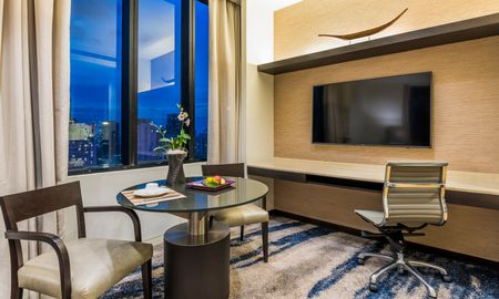 Studio Deluxe - City View - Emporium Suites By Chatrium - Bangkok