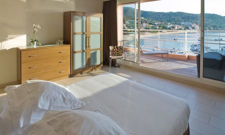 Master Suite - 2 Habitaciones - Hotel Le Golfe - Córcega