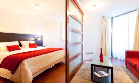 Standard Suite - Plaza Suites Apartments - Santiago