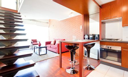 Suite Duplex - Plaza Suites Apartments - Santiago