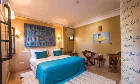Quarto Azul - Riad Anata - Fez