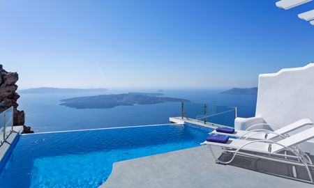 Suite Angels con Piscina Desbordante - Pegasus Suites & SPA - Adults Only - Santorini