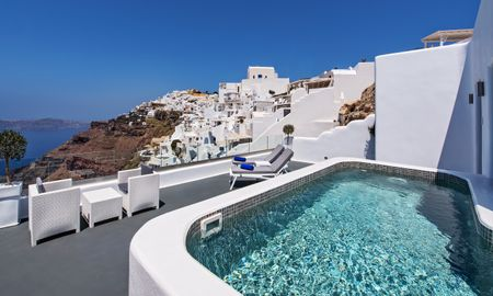 Suite Luna de Miel con Piscina Privada - Pegasus Suites & SPA - Adults Only - Santorini