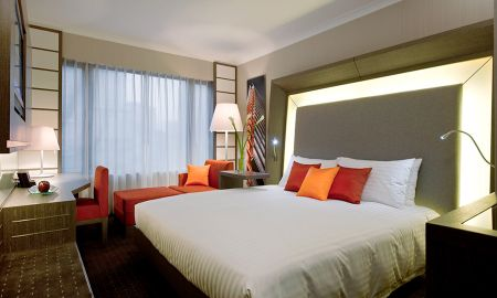 Quarto Executivo King - Novotel Hong Kong Nathan Road Kowloon - Hong Kong