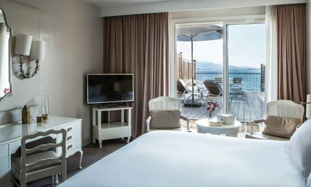 Luxury King Room - Sea View & Solarium - Sofitel Golfe D'Ajaccio Thalassa Sea & Spa - Ajaccio