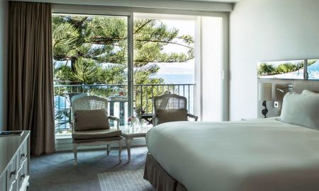 Superior King Room - Balcony & Sea View - Sofitel Golfe D'Ajaccio Thalassa Sea & Spa - Ajaccio