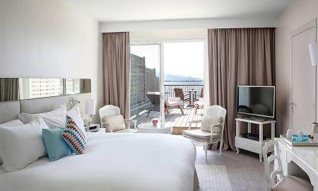 Deluxe Sea View Room with Balcony - Sofitel Golfe D'Ajaccio Thalassa Sea & Spa - Ajaccio