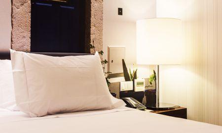 Chambre Standard Single - Hotel Olissippo Saldanha - Lisbonne